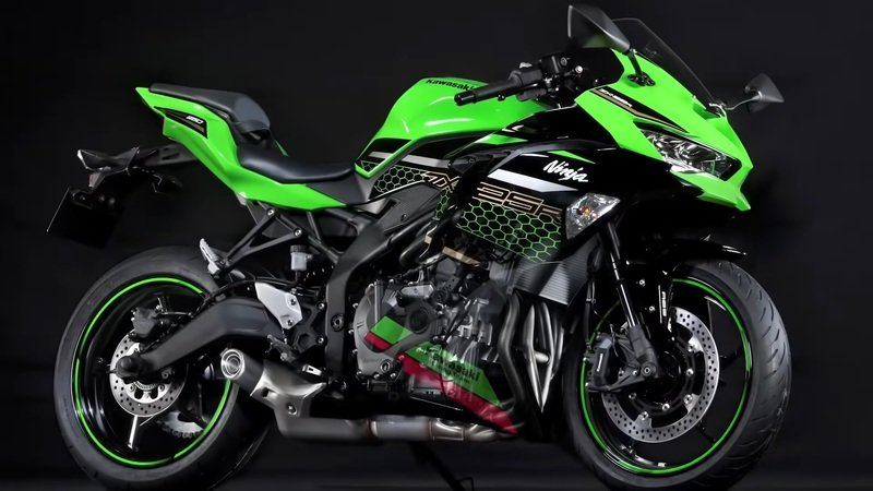 Kawasaki's baby Ninja ZX-25R is quite the screamer at 17,000 rpm -Take a listen