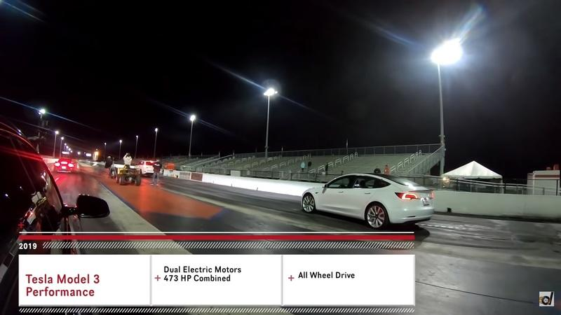 High-Mileage Tesla Model S P100D Matches Wits With Almost-New Tesla Model 3 Performance