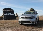 How Do You Make the World's Fastest Christmas Tree? Strap It on Top of a Hennessey-Tuned Jeep! - image 877862