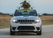 How Do You Make the World's Fastest Christmas Tree? Strap It on Top of a Hennessey-Tuned Jeep! - image 877846