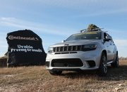 How Do You Make the World's Fastest Christmas Tree? Strap It on Top of a Hennessey-Tuned Jeep! - image 877853