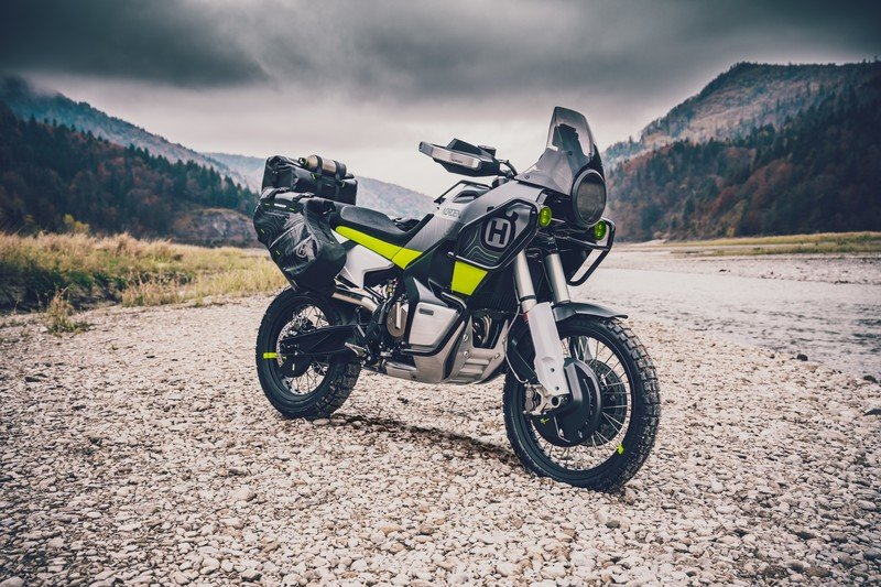 Husqvarna Launches Its First Adventure Bike