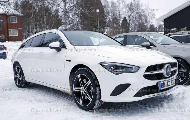 2021 Mercedes-Benz CLA PHEV Speculative Review and Spy Shots