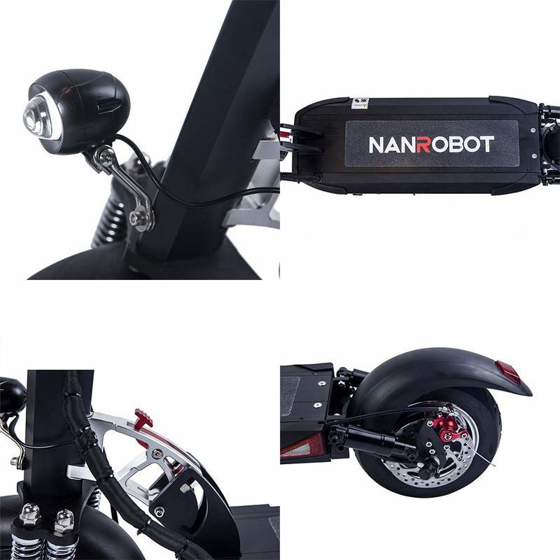 NANROBOT D5+ Electric Scooter Review - image 876839