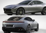 New Rendering Shows What the Ferrari Purosangue Would Look Like With Lots of Roma Styling - image 878410