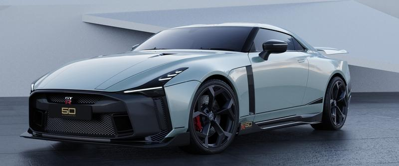 Rain Prisk Just Envisioned the Nissan GT-R50 as a Mid-Engine Car and It's Perfect