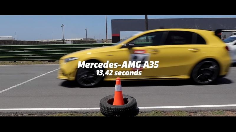 See How the BMW M135i Stacks Up Against the Mercedes-AMG A35 in a Drag Race
