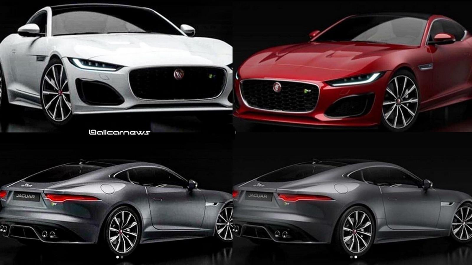 the 2021 jaguar ftype has leaked and looks very familiar