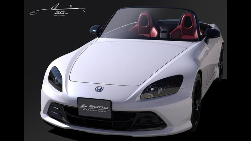 The Honda S2000 20th Anniversary Edition Makes Us Yearn for the Roadster's Return