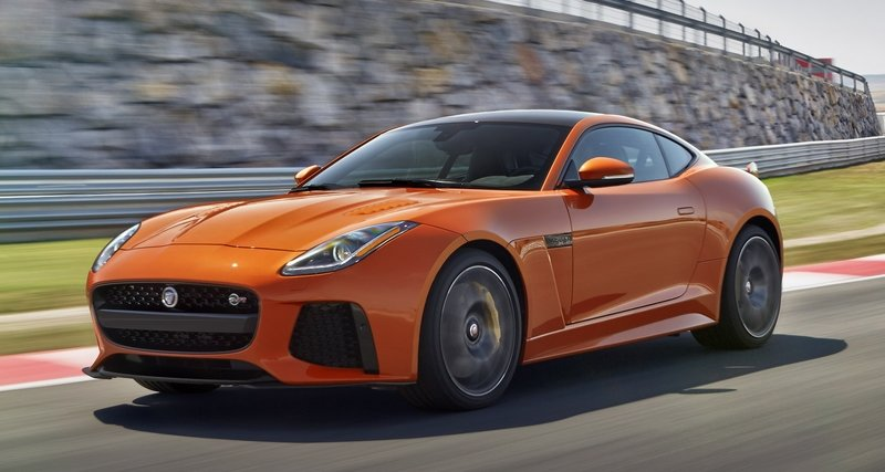 The Jaguar F-Type's New Engine Lineup Is Smaller and the F-Type R Now Occupies SVR Space