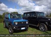 The Suzuki Jimny Squares Off With the Mercedes G-Class in an Epic Off-Road Challenge - image 877330