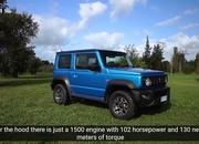 The Suzuki Jimny Squares Off With the Mercedes G-Class in an Epic Off-Road Challenge - image 877332