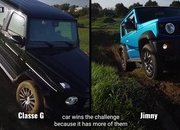 The Suzuki Jimny Squares Off With the Mercedes G-Class in an Epic Off-Road Challenge - image 877319