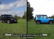 The Suzuki Jimny Squares Off With the Mercedes G-Class in an Epic Off-Road Challenge - image 877320