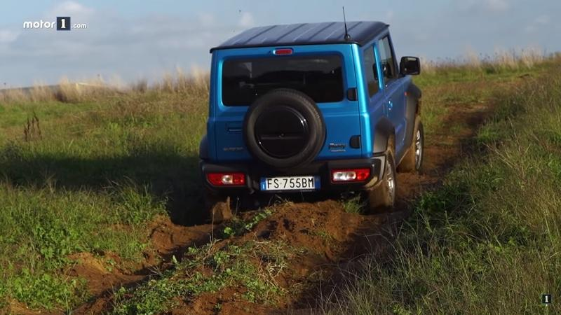 The Suzuki Jimny Squares Off With the Mercedes G-Class in an Epic Off-Road Challenge - image 877321