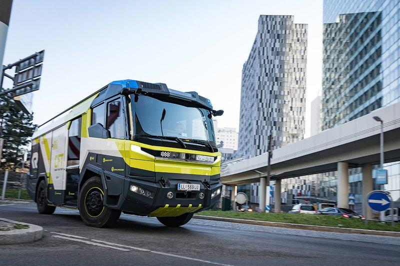 The World Now Has an Electric Fire Truck - Let's Just Hope the Battery Doesn't Die En-Route