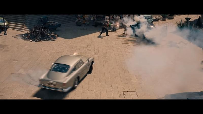There Are a Few Aston Martins in the new James Bond No time to Die Trailer