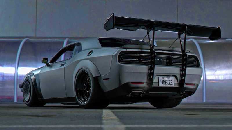 Track Day Rendering of a Dodge Challenger Hellcat Looks Like It's Straight Out of Need For Speed - image 878453