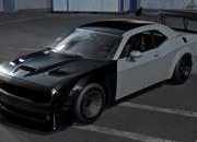 Track Day Rendering of a Dodge Challenger Hellcat Looks Like It's Straight Out of Need For Speed - image 878449
