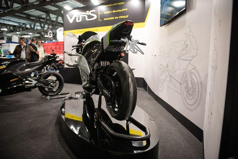 Vins and their brand-new electric sportsbike prototype: the EV-01