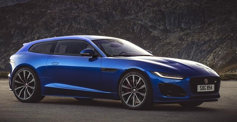 X-Tomi Design Strikes Again, This Time with the 2021 Jaguar F-Type R Shooting Brake