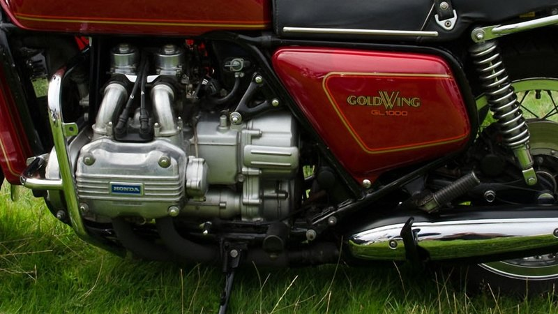 1975 - 1979 Honda GL1000 Gold Wing
