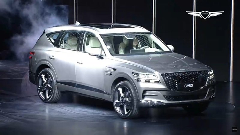 2021 Genesis GV80 Details and Picture Gallery