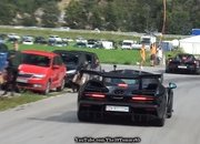 A McLaren P1 and Senna Pull Up to the Drag Strip and the Results Are Surprising - image 879797