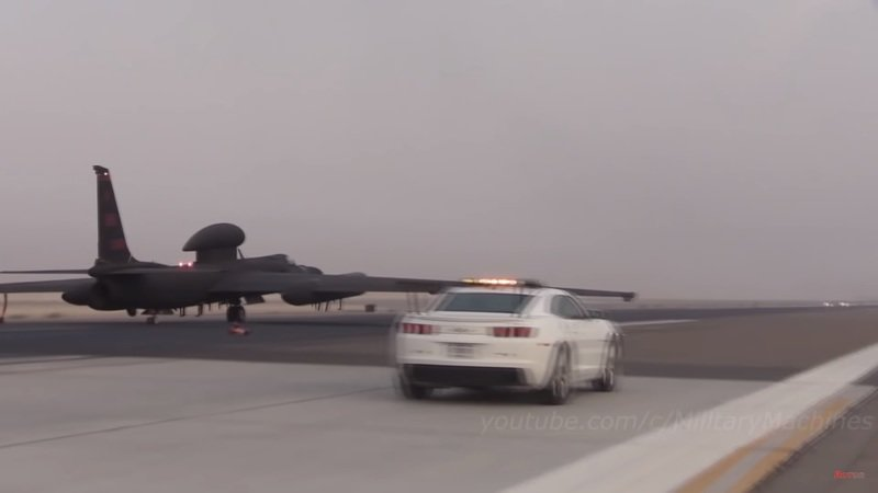Bet You Didn't Know the U.S. Air Force Uses the Chevy Camaro to Help Land U2 Spy Planes