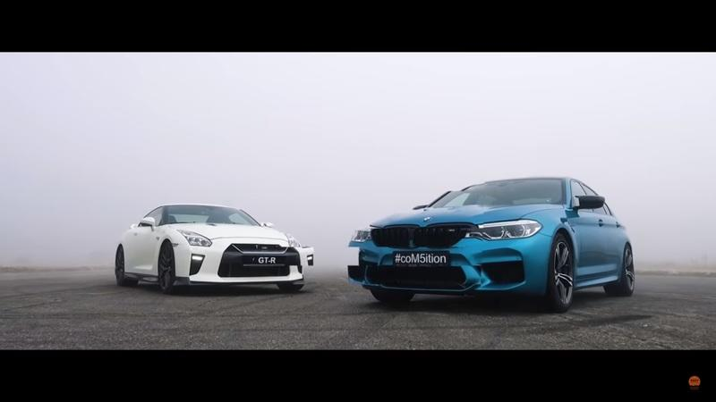 Between Godzilla and the BMW M5, This is One Action-Packed Head-to-Head Showdown - image 882331