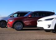 BMW X7 vs Mercedes-AMG GLC vs Model X Drag Race: Hoping Your Kids Won't Puke - image 881091