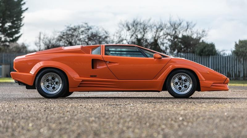 Car For Sale: One Owner 1990 Lamborghini Countach 25th Anniversary Edition
