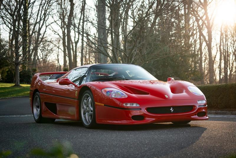 Car for Sale: Ultra-Rare 1995 Ferrari F50 Berlinetta Prototipo