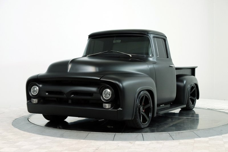 Cool Truck for Sale: 1956 Ford F-100 With a Shelby GT350 Voodoo Engine