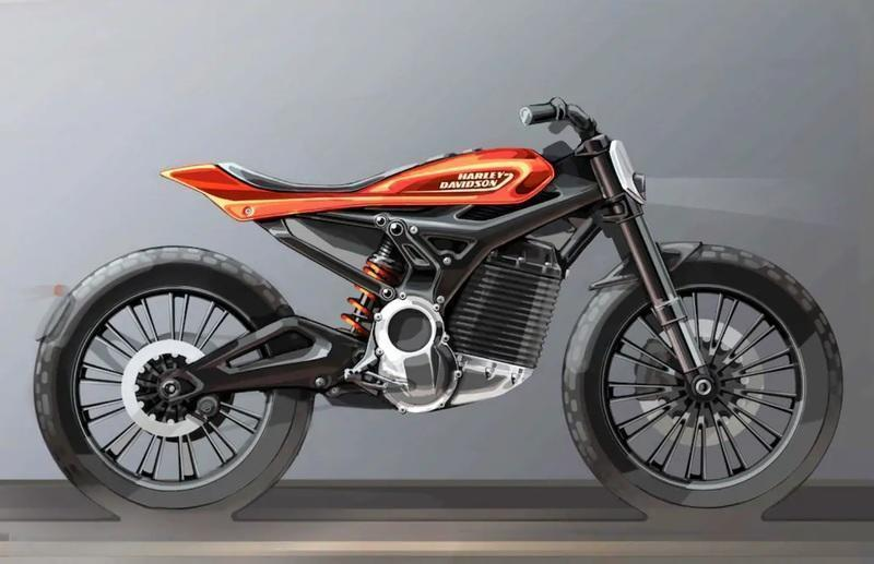 Harley-Davidson just showed us a strong intent of their future electric street-tracker