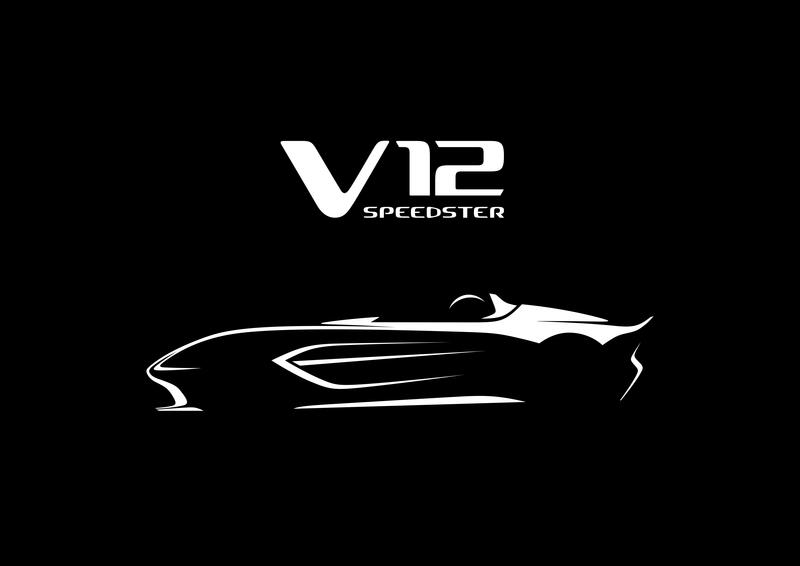 Does Aston Martin's V-12 Speedster Teaser Confirm the CC100 Speedster Concept Is Heading to Production?