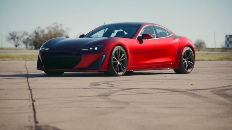 Drako's GTE Electric Supercar Tests Its Worth Against The Tesla Model S to Predictable Results