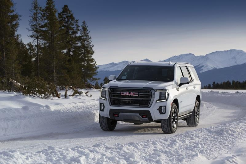 Rivian Has Found An Unlikely Competitor For Its Tank Turn Feature In The GMC Yukon
