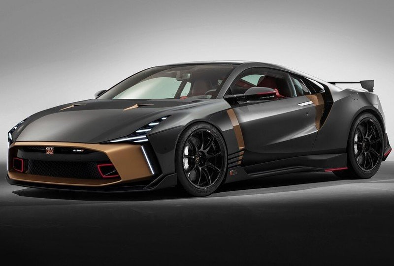 Hey, Nissan, Make This the New GT-R, Will You?