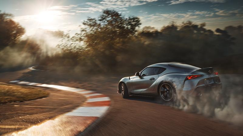 Hurry Up and Get This Free Toyota Supra Poster and Desktop Wallpapers!