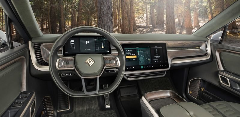 Just Like the Lamborghini Huracan EVO, the Rivian R1S and R1T Will Come Standard With Amazon Alexa - image 879393