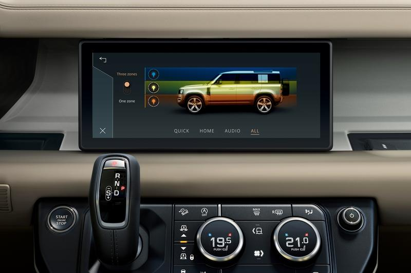 Land Rover Showcases world-first dual-modem infotainment system at CES