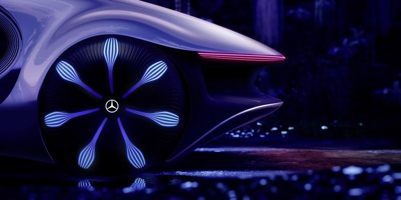 2020 Mercedes Vision AVTR - A Look Into the Impossible Future Exterior - image 879272