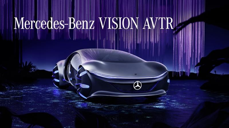 2020 Mercedes Vision AVTR - A Look Into the Impossible Future Exterior - image 879291