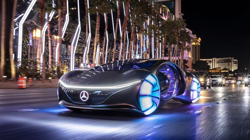 2020 Mercedes Vision AVTR - A Look Into the Impossible Future Exterior Wallpaper quality - image 879484
