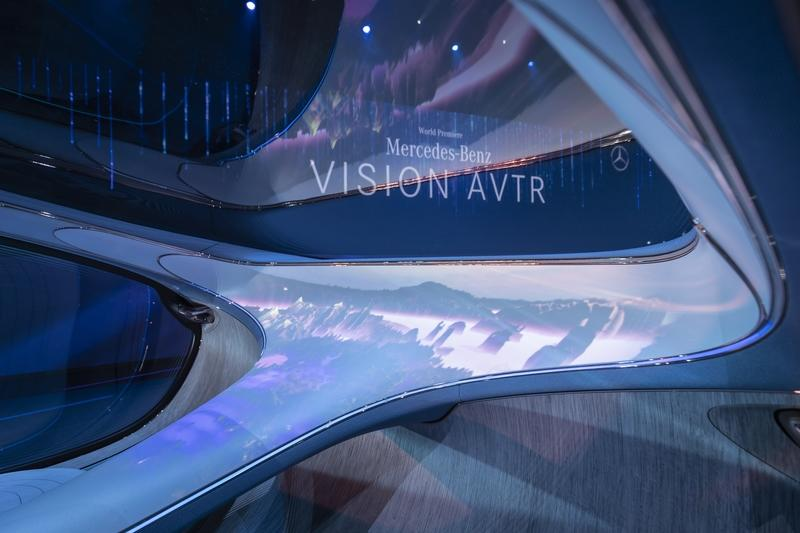 2020 Mercedes Vision AVTR - A Look Into the Impossible Future Interior - image 879490