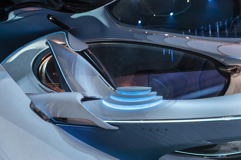 2020 Mercedes Vision AVTR - A Look Into the Impossible Future Interior - image 879491