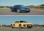 New Audi R8 Meets Old Audi R8 and The Real Winners Are Us - image 882403