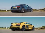New Audi R8 Meets Old Audi R8 and The Real Winners Are Us - image 882404