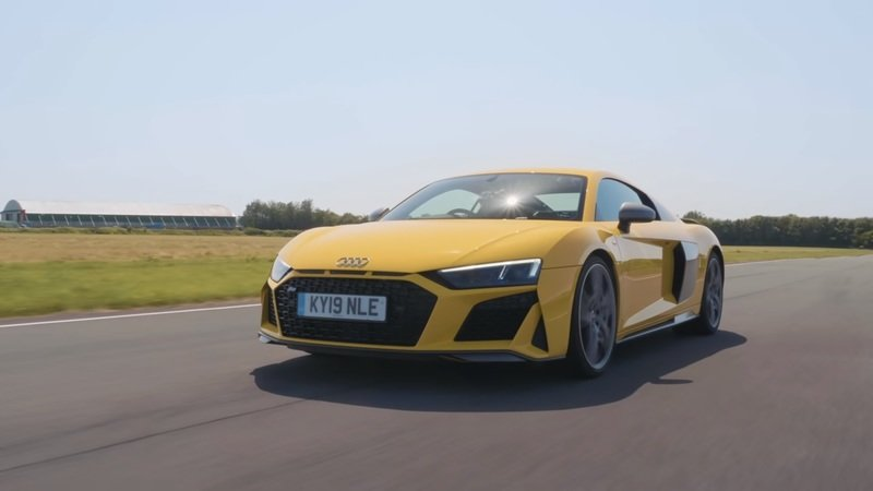 New Audi R8 Meets Old Audi R8 and The Real Winners Are Us